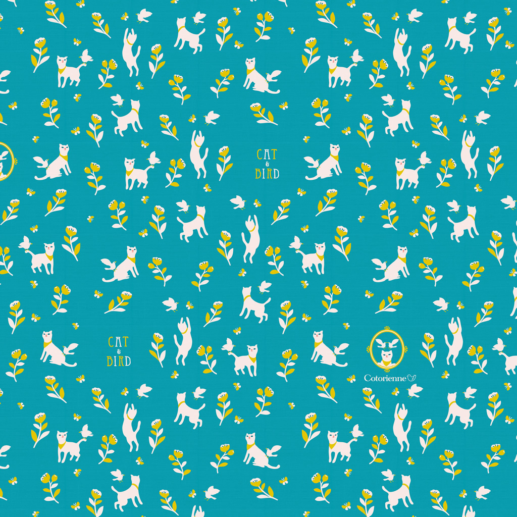 Cotorienne Free Dl Fabric Wallpaper
