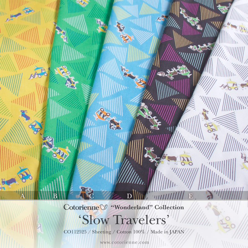 コトリエンヌ,Cotorienne, Slow Travelers