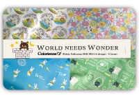 World needs Wonder fabric collection
